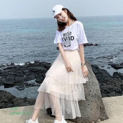 ロングスカート フレア ボトムス かわいい おしゃれ レディース ファッション ママファッション