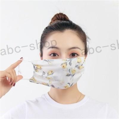 マスク夏用冷感マスク涼しい洗える大きめシルクマスク5枚セットひんやり夏マスクUVカット立体紫外線対策メンズレディース安い繰り返す