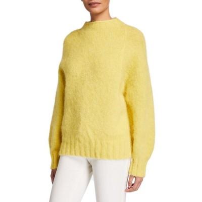 エキプモン レディース ニット・セーター アウター Souxanne Mock-Neck Wool Sweater