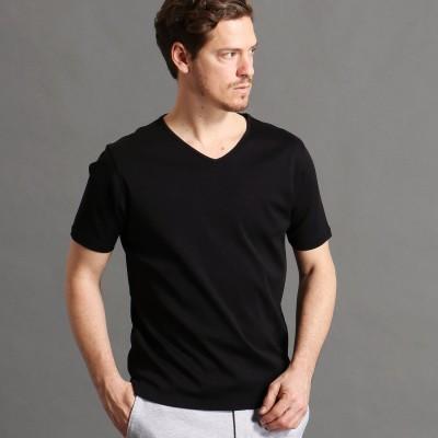 ムッシュ ニコル MONSIEUR NICOLE 半袖VネックTシャツ (49ブラック)