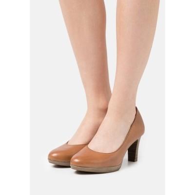 タマリス ヒール レディース シューズ Platform heels - muscat