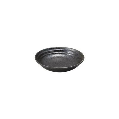 """桐井陶器 リネア 黒 7.5""""クープ S218-297-75"""