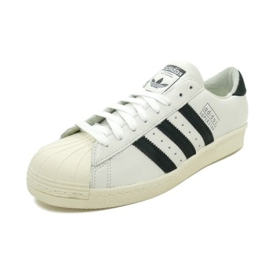 スニーカー アディダス adidas スーパースター80sリーコン ホワイト/ブラック EE7396 メンズ シューズ 靴 19FW