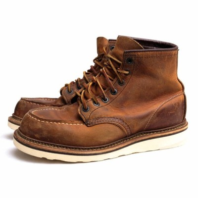 RED WING レッドウィング ブーツ 1907 6inch CLASSIC MOC TOE Copper Rough&Tough Leather コッパーラフ&タフレザー ワークブーツ