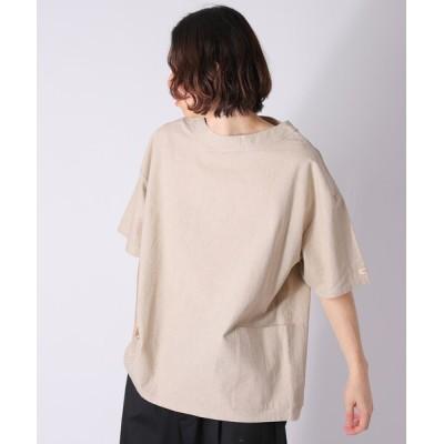 tシャツ Tシャツ WEB限定 MACOBER×FREAK'S STORE/マコバー 別注 リネン スモック プルオーバー