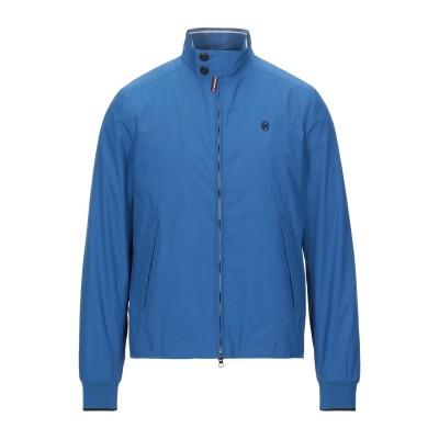 CONTE OF FLORENCE ブルゾン ブルー M 紡績繊維 ブルゾン