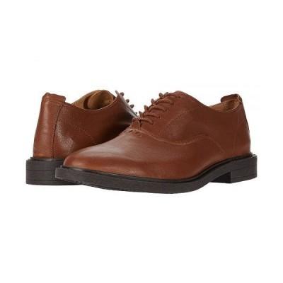 Hush Puppies ハッシュパピーズ メンズ 男性用 シューズ 靴 オックスフォード 紳士靴 通勤靴 Davis Oxford PF - Cognac Leather