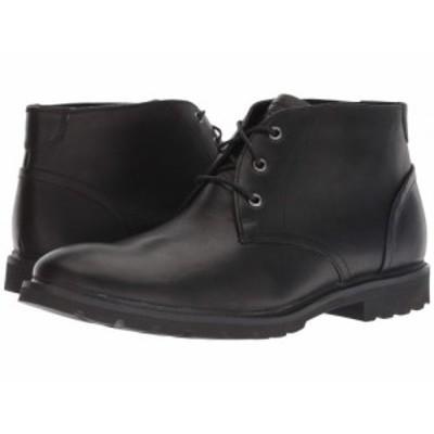 Rockport ロックポート メンズ 男性用 シューズ 靴 ブーツ チャッカブーツ Sharp and Ready Chukka Black【送料無料】