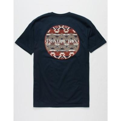 ペンドルトン PENDLETON メンズ Tシャツ トップス Mountain Majesty T-Shirt NAVY