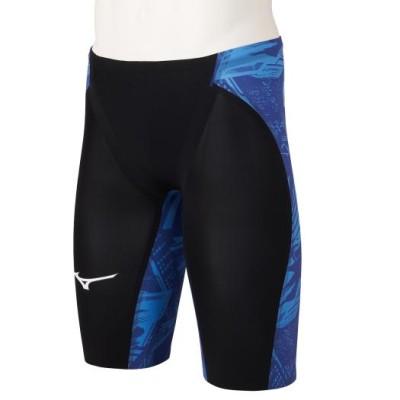 ミズノ 競泳用GX・SONIC NEO ハーフスパッツ[メンズ] 20リフレックスブルー M スイム 競泳水着 N2MB1505
