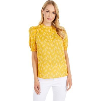ラッキーブランド Lucky Brand レディース ブラウス・シャツ トップス Feminine Popover Top Yellow Multi