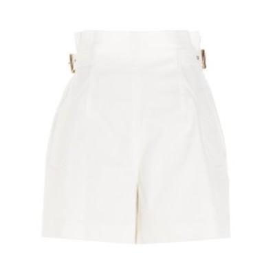 ALBERTA FERRETTI/アルベルタ フェレッティ White Side buckle shorts レディース 春夏2021 A030316240002 ju