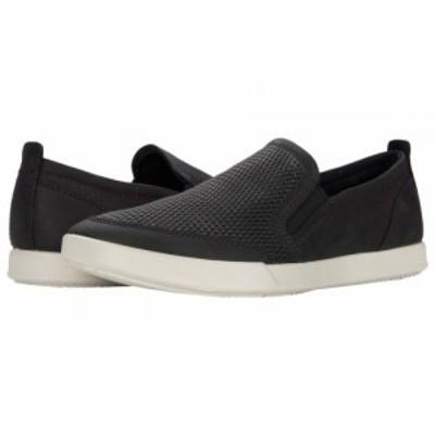 ECCO エコー メンズ 男性用 シューズ 靴 スニーカー 運動靴 Collin 2.0 Casual Slip-On Black【送料無料】