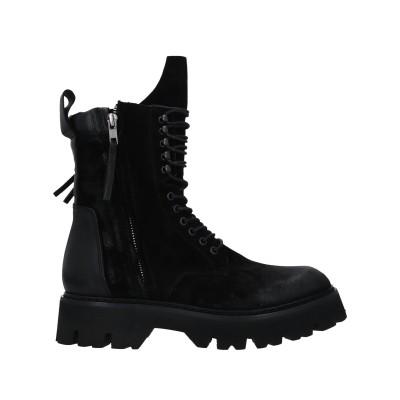 FRU.IT ショートブーツ ブラック 40.5 革 ショートブーツ