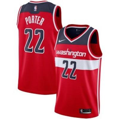 ナイキ メンズ Tシャツ トップス Otto Porter Washington Wizards Nike Replica Swingman Jersey