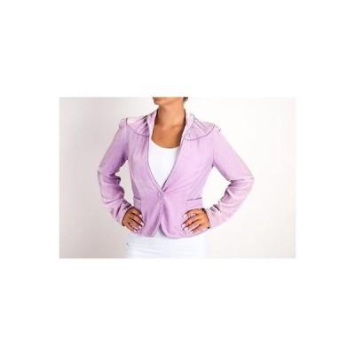 コート ジャケット ベスト ダイアンフォンファステンバーグ DvF Diane von Furstenberg Jemma Lavender Jacket Top Size 8