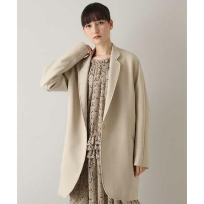 HIROKO KOSHINO / ヒロココシノ トリプルクロスジャケットコート