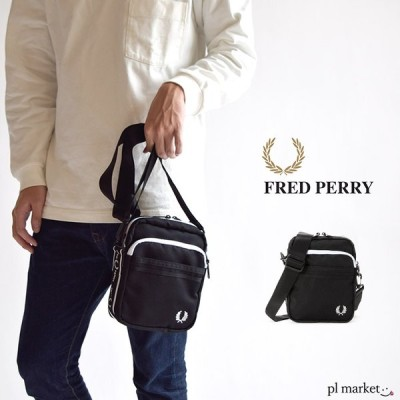 フレッドペリー バッグ FREDPERRY  モノクローム サイドバッグ ミニ ショルダーバッグ サコッシュバッグ サコッシュ サブバッグ 斜めがけ 斜め掛け L7229