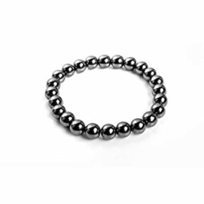 Stretchable Hematite Beads Bracelet
