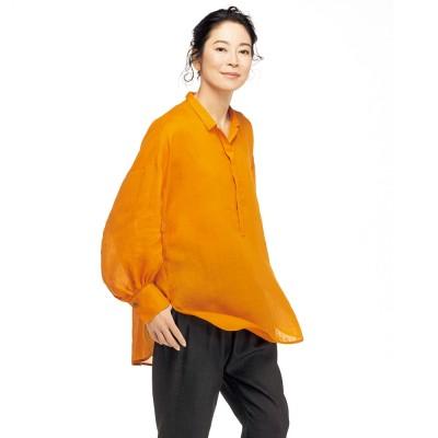 ラミー ボリュームシャツ マンダリンオレンジ 1S