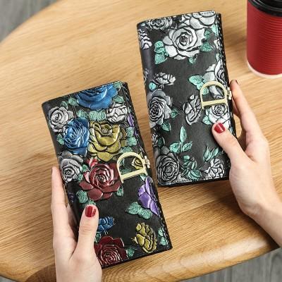 上品質 高級感 長財布 レディース財布 ボタン レトロ 二つ折り オシャレ 箱付き レディース トートバッグ/ショルダーバッグ 可愛い バッグξ(✿ ❛‿❛)ξ