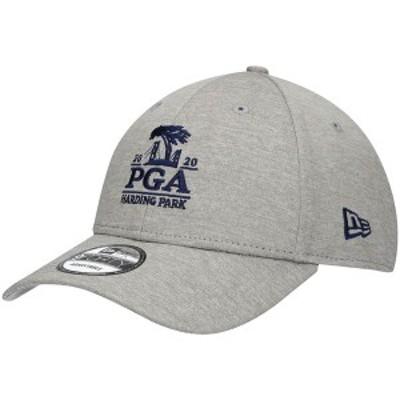 ニューエラ メンズ 帽子 アクセサリー 2020 PGA Championship New Era Shadow Tech 9FORTY Adjustable Hat Gray