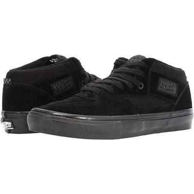 バンズ Skate Half Cab メンズ スニーカー 靴 シューズ Black/Black