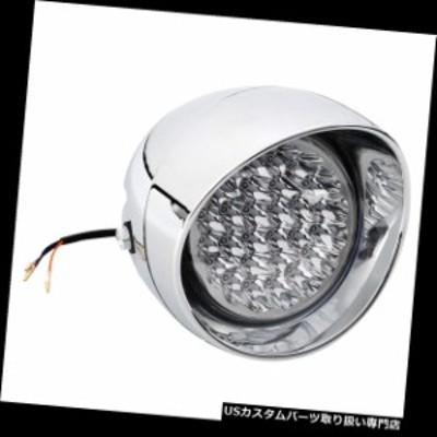 """バイク ヘッドライト 7 """"ハーレーボバチョッパー弾丸プラスチック用LEDフロントライトヘッドライトヘッドランプ  7"""" LED Front Light He"""