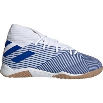 アディダス メンズ サッカーシューズ adidas Nemeziz 19.3 Indoor Soccer インドア WHITE/BLUE