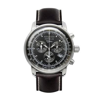 ツェッペリン ZEPPELIN 100周年記念モデル クロノグラフ 腕時計 7680-2 おしゃれ  ポイント消化