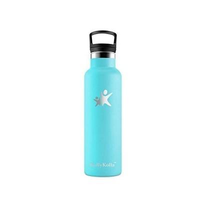 KollyKolla 水筒 スポーツボトル ウォーターボトル ステンレスボトル 断熱ボトル 魔法瓶 アウトドアボトル ストローボトル 子供