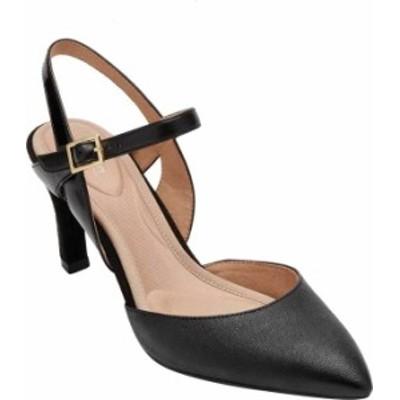 ロックポート レディース サンダル シューズ Women's Rockport Total Motion Sheehan 2 Piece Slingback Sandal Black Leather