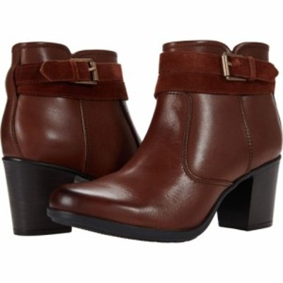 クラークス Clarks レディース ブーツ シューズ・靴 Diane Peake Mahogany Leather