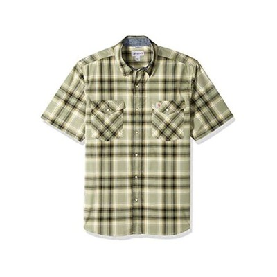 Carhartt メンズ Rugged Flex Bozeman 半袖シャツ US サイズ: XX-Large カラー: グリーン