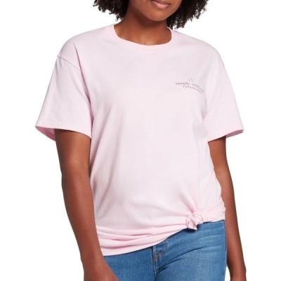 シンプリーサウザーン シャツ トップス レディース Simply Southern Women's Cheetah Logo Short Sleeve T-Shirt Lulu