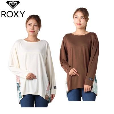 ロキシー ROXY 長袖シャツ レディース BLOWS UVカット 抗菌防臭 バックスリット 長袖Tシャツ RLT212046