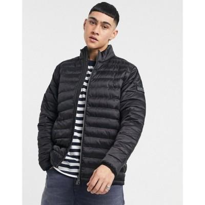 バブアー Barbour International メンズ ジャケット アウター Summer Impeller Quilt Jacket In Black ブラック
