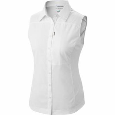 コロンビア タンクトップ Silver Ridge II Sleeveless Shirt White