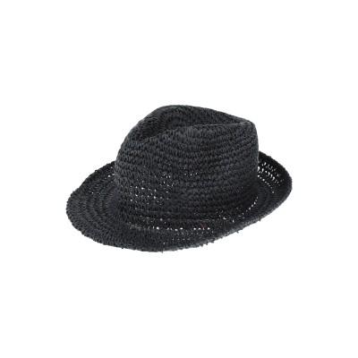 アルテア ALTEA 帽子 ダークブルー M 指定外繊維(紙) 100% 帽子