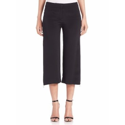 カシュニーエオクス レディース パンツ Cropped Zip-Detail Pants