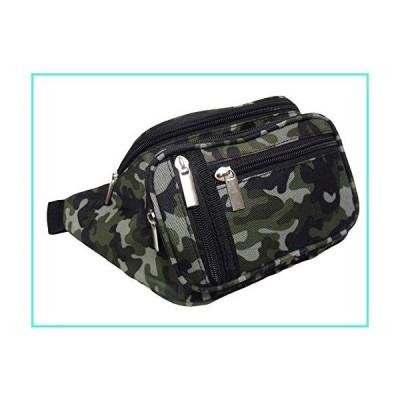 【新品】FingerLakes Camouflage Camo Waist Fanny Belt Pack Pouch - 5 Pockets(並行輸入品)