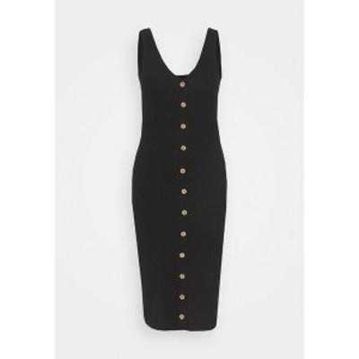 オンリー トール レディース ワンピース トップス ONLNELLA BODYCON DRESS - Day dress - black black