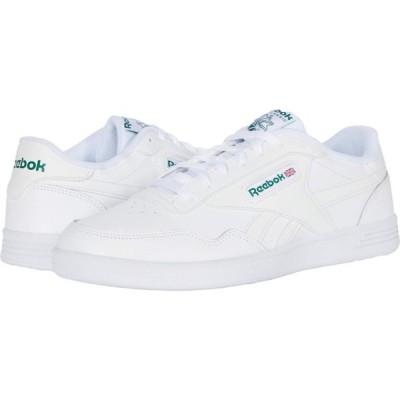 リーボック Reebok メンズ スニーカー シューズ・靴 Club Memt White/White/Clover Green