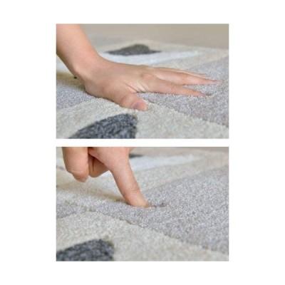 なかね家具 玄関マット アニマル 手洗いOK 猫 3キャットブロック 53×82 グレー (1421243) 123 fuji