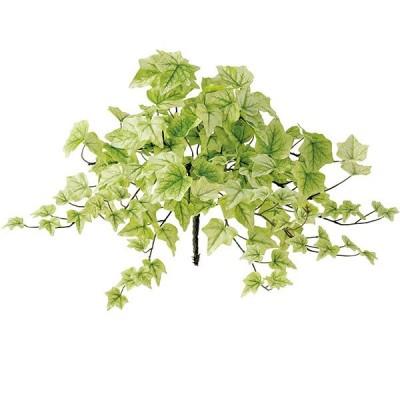 ライムアイビー ブッシュ 全長40cm 2本セット(造花 フェイクグリーン インテリアグリーン 人工観葉植物)