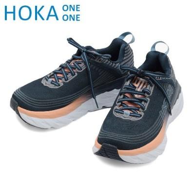 ホカオネオネ ボンダイ6 スニーカー W BONDI 6 WIDE 1019272/MIDP HOKA ONE ONE レディース ランニング シューズ 靴