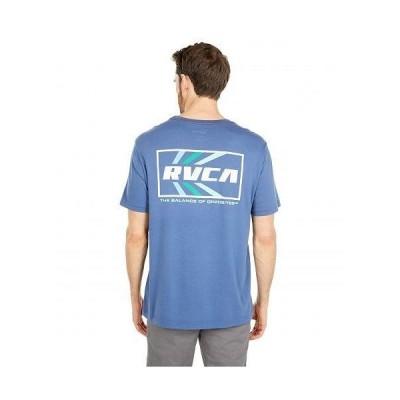 RVCA ルーカ メンズ 男性用 ファッション Tシャツ Autobahn Short Sleeve Tee - Classic Blue