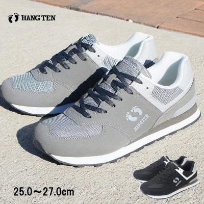 HNG TEN スニーカー メンズ 軽量 軽い メッシュ ひも 紐 運動靴 ブラック 黒 グレー ウォーキング ジョギング フィットネス 作業靴 男性 紳士 30代 40代 mzhn141