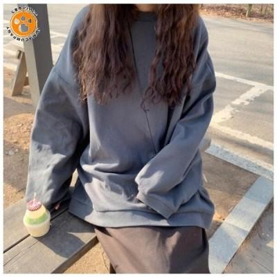 韓国ファッション パーカー ロングパーカー オーバーサイズ パーカーワンピース おしゃれ