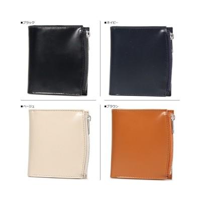 (MAISONMARGIELA/メゾンマルジェラ)メゾンマルジェラ MAISON MARGIELA 財布 二つ折り メンズ レディース BI-FOLD WALLET ブラック ネイビー ベージュ ブラウン 黒/ユニセックス ネイビー